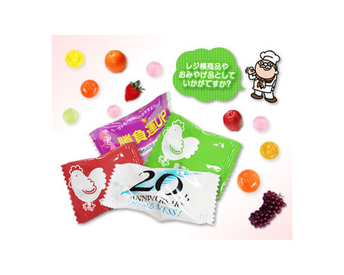 オリジナルピローキャンディ(特色印刷)