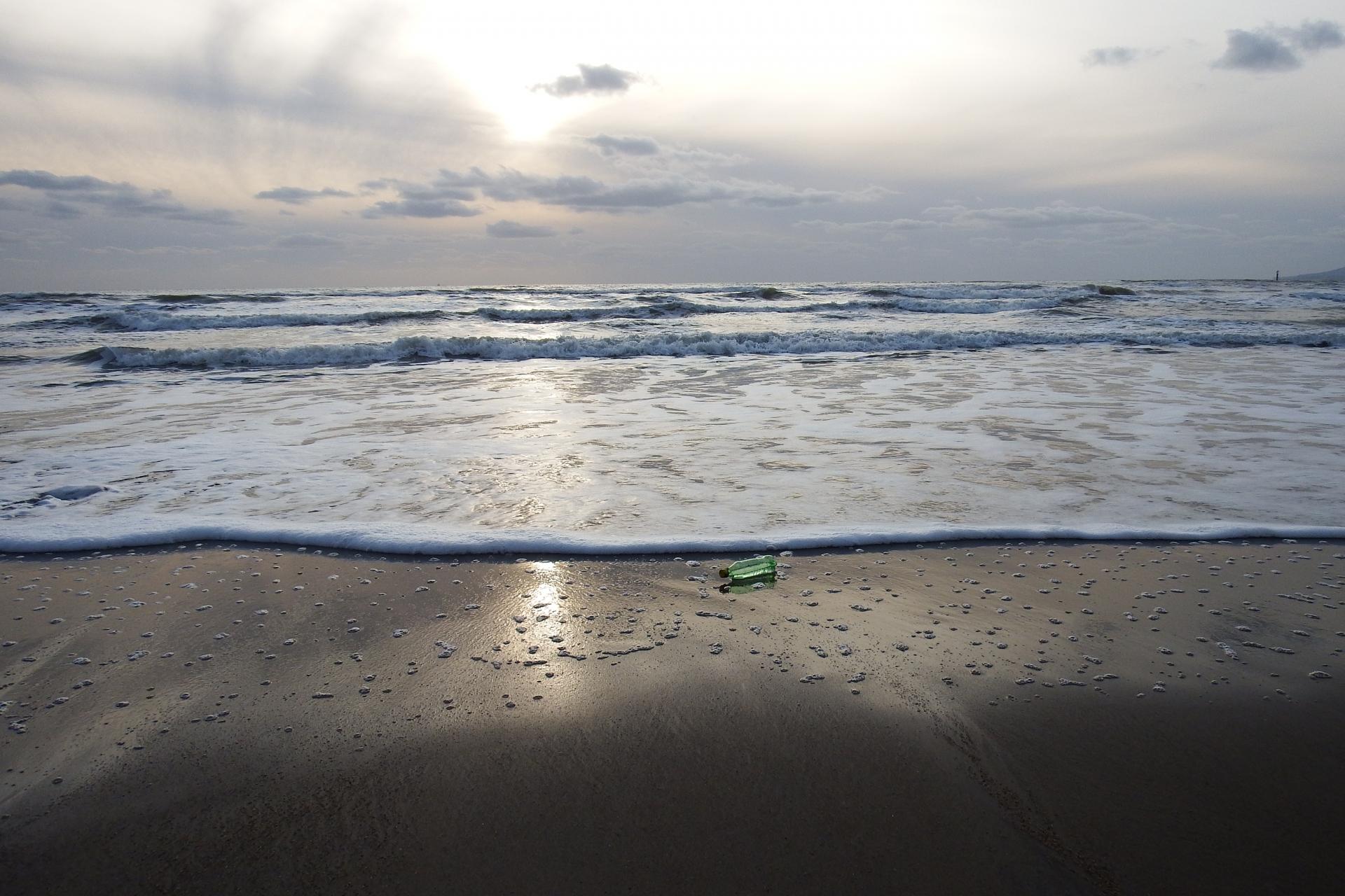 海洋プラスチックごみのイメージ
