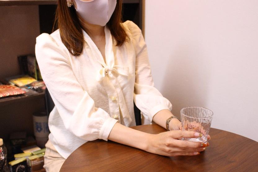 炭酸水グラス(フリーカップ)(275ml)アイキャッチ画像