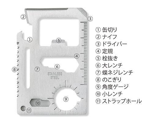 OD048 カード型マルチツール